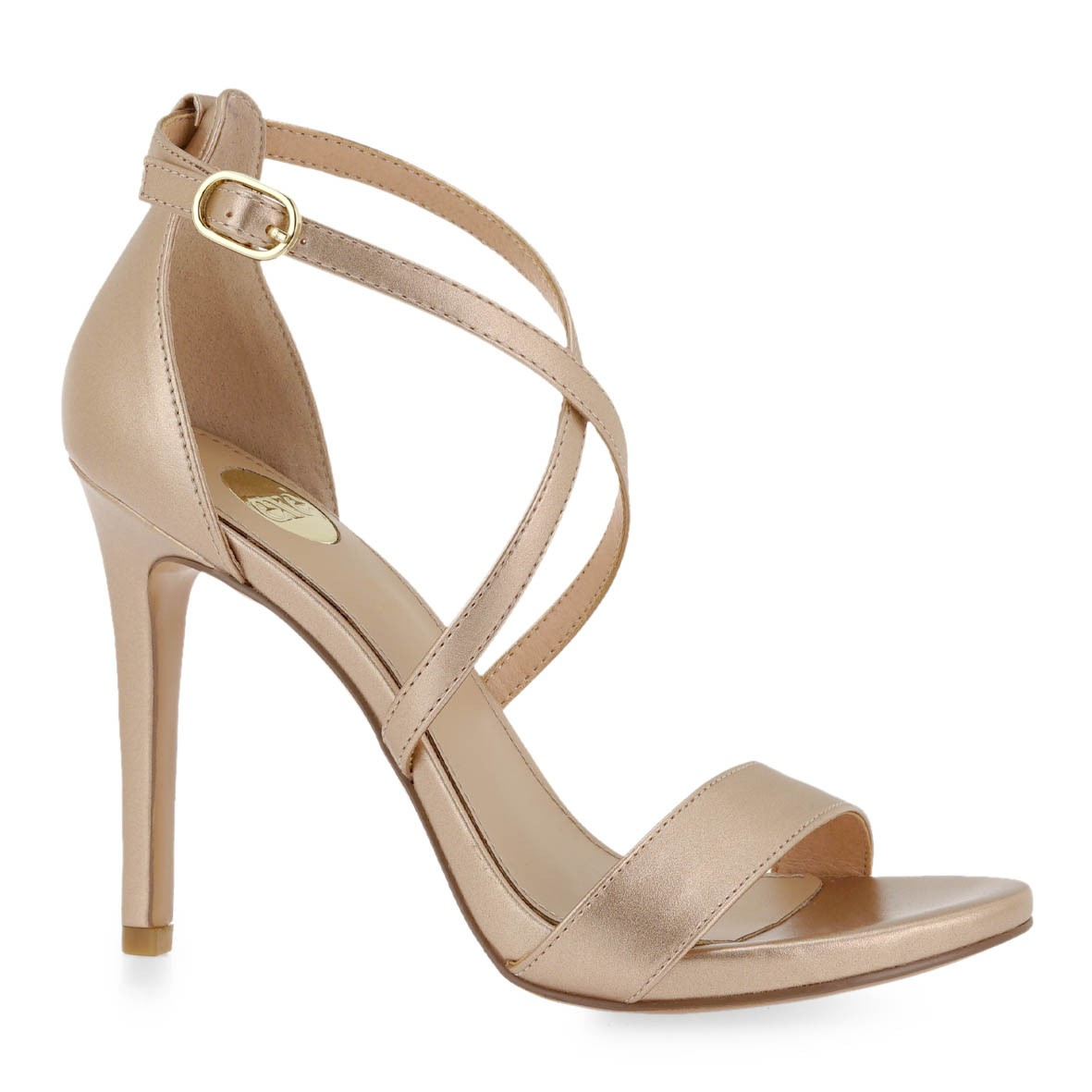 EXE Shoes Πέδιλα Γυναικεία SILVIA-923 Ρόζ Χρυσός K47009236546