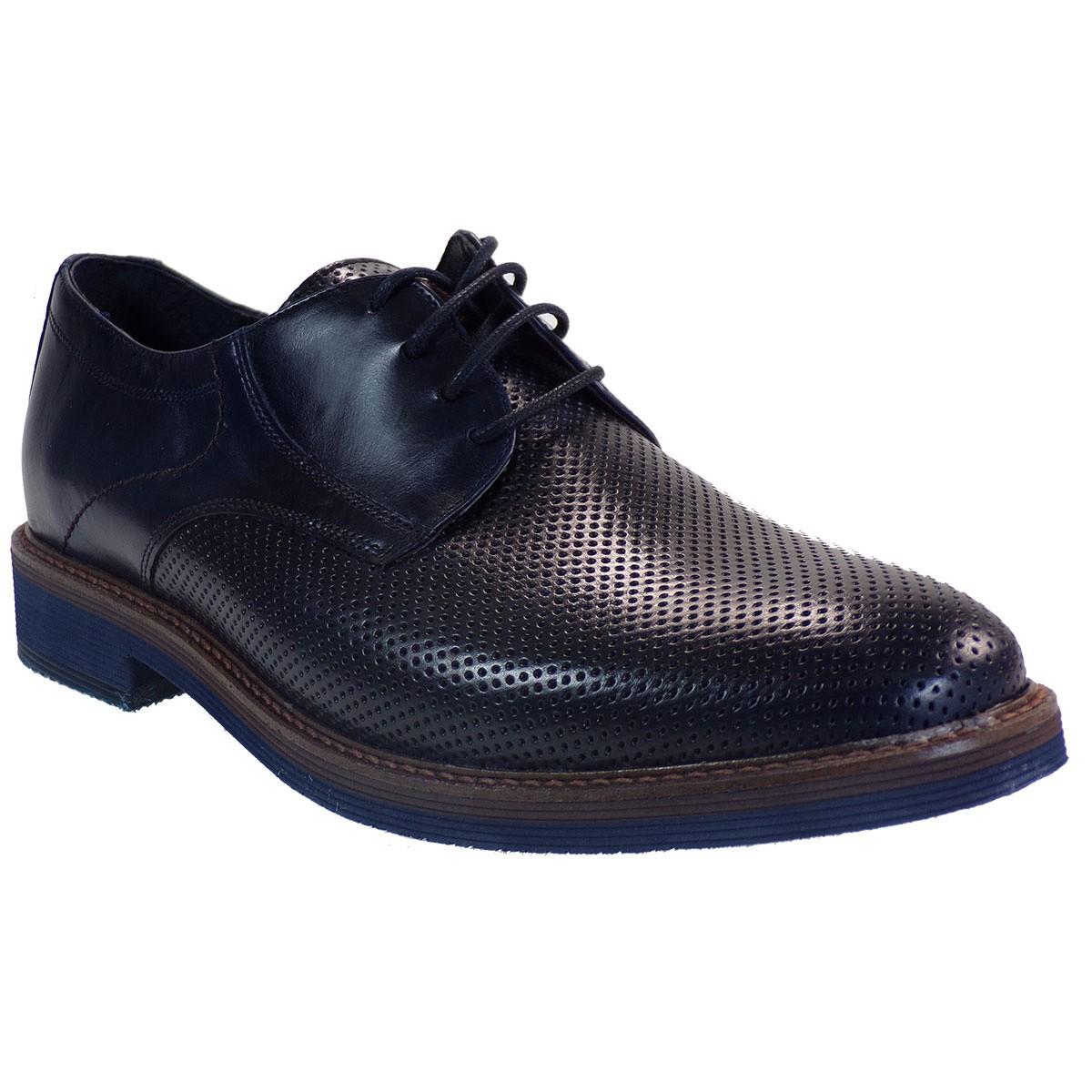 kricket Ανδρικά Παπούτσια 095 Μπλέ Δέρμα