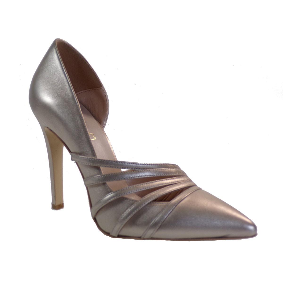 Fardoulis Shoes Γυναικεία Παπούτσια Γόβες 2306 Άμμος Δέρμα