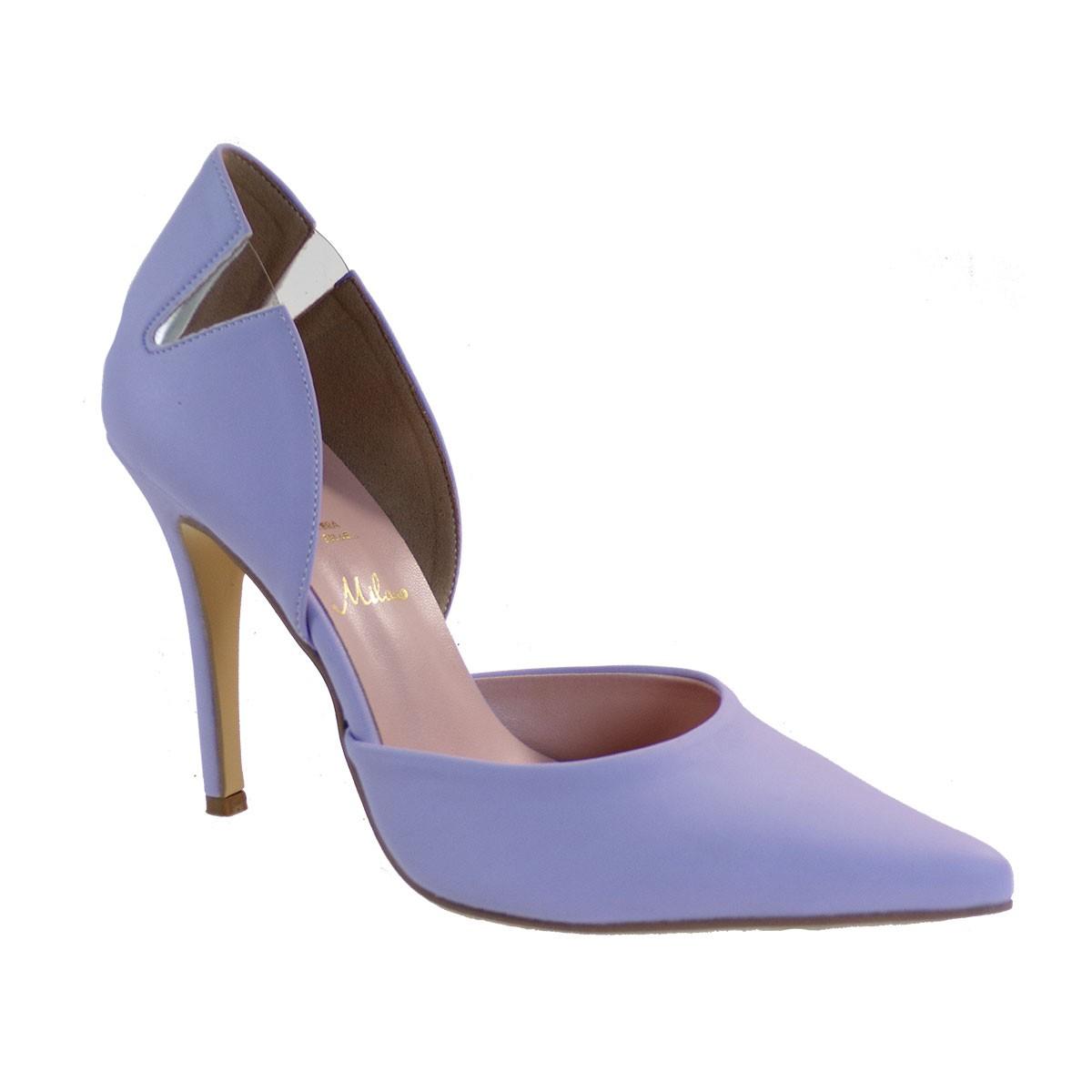 Alessandra Paggioti Γυναικεία Παπούτσια Γόβες 89800 Μωβ Mατ