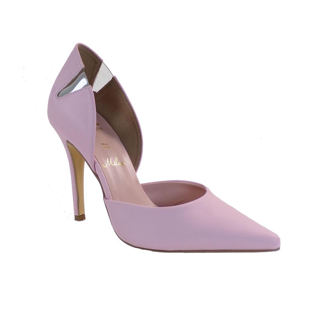 Alessandra Paggioti Γυναικεία Παπούτσια Γόβες 89800 Ροζ Mατ