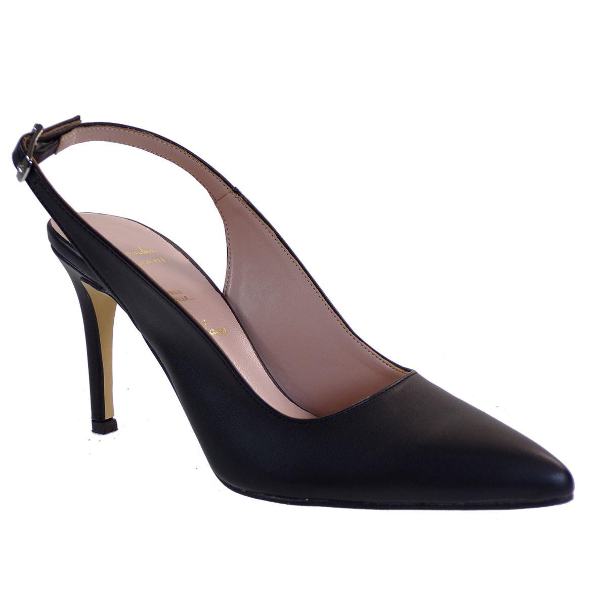 Alessandra Paggioti Γυναικεία Παπούτσια Γόβες 81000 Μαύρο Ματ