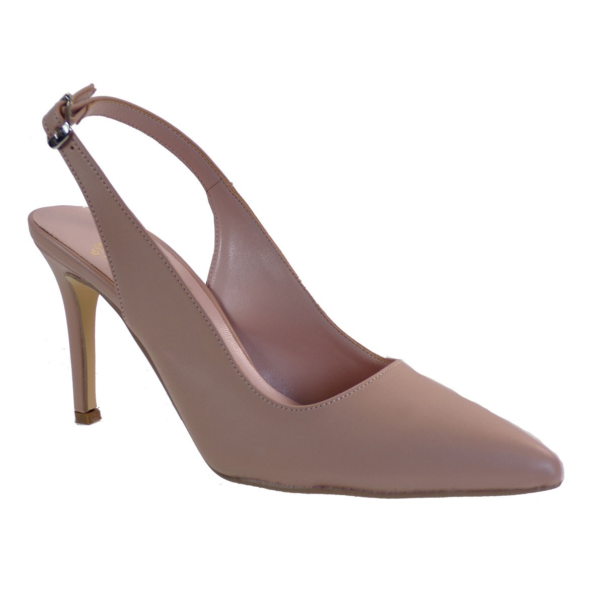 Alessandra Paggioti Γυναικεία Παπούτσια Γόβες 81000 Nude Ματ
