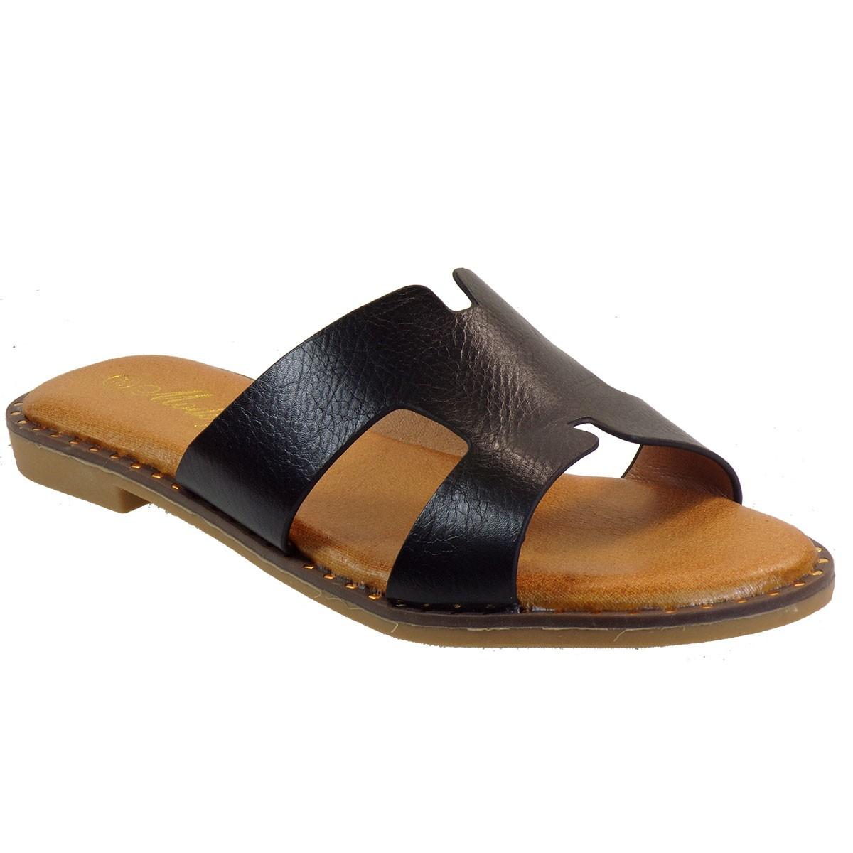 Bagiota Shoes Γυναικείες Παντόφλες CO32 Μαύρο