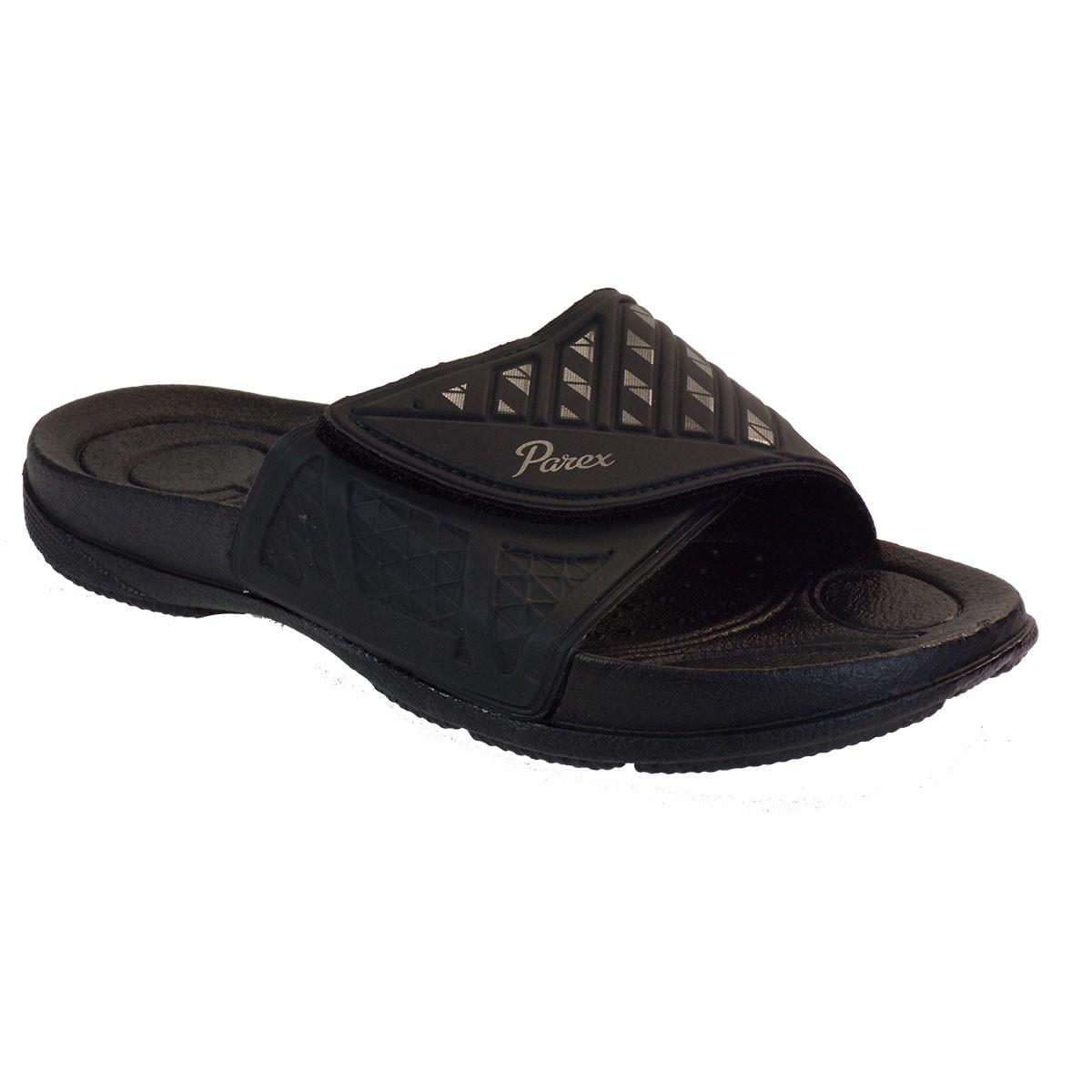 Parex Ανδρικές Παντόφλες 11821051.Β Μαύρο