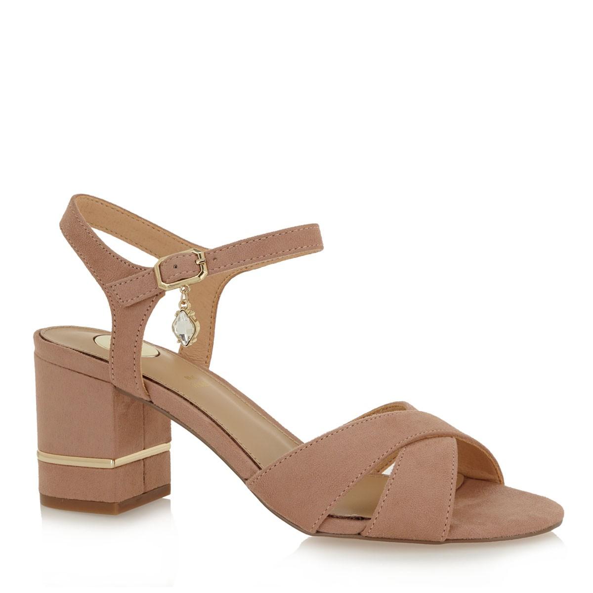 EXE Shoes Πέδιλα Γυναικεία PENNY-225 Nude Καστόρι K4700225471D
