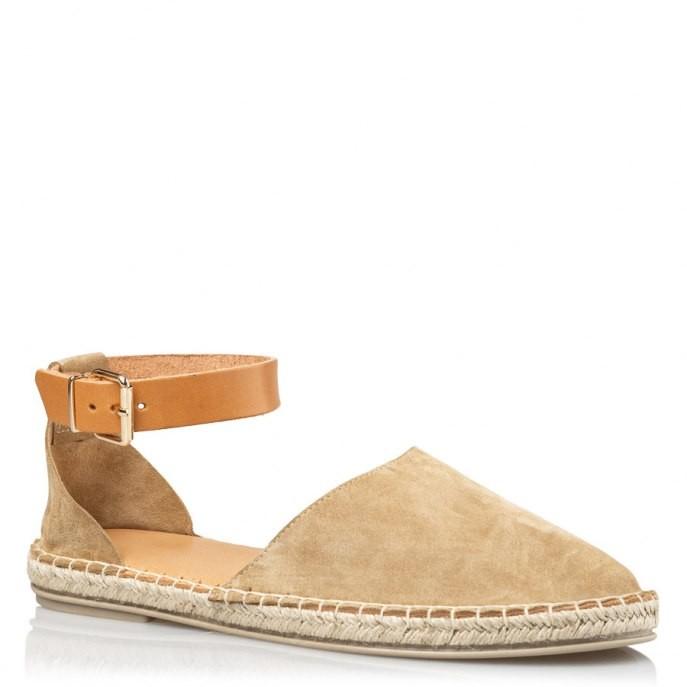 Envie Shoes Γυναικεία Παπούτσια Εσπαντρίγιες Ε02-11035-26 Καμέλ