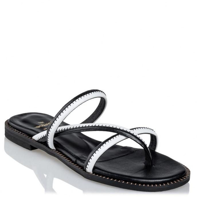 Mairiboo by Envie Shoes Γυναικεία Πέδιλα M03-11801-34 Μαύρο SEAM
