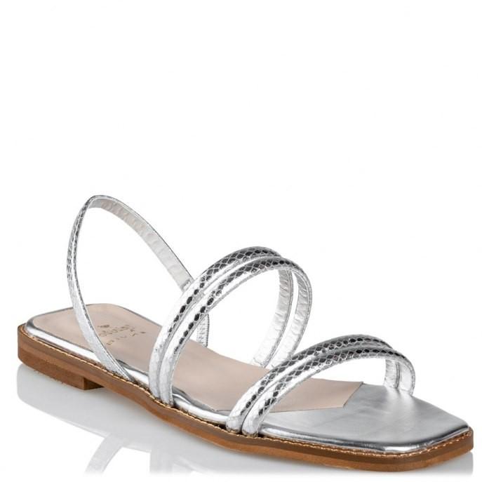 Mairiboo by Envie Shoes Γυναικεία Πέδιλα M03-11803-21 Ασημί VOULEZ VOUS