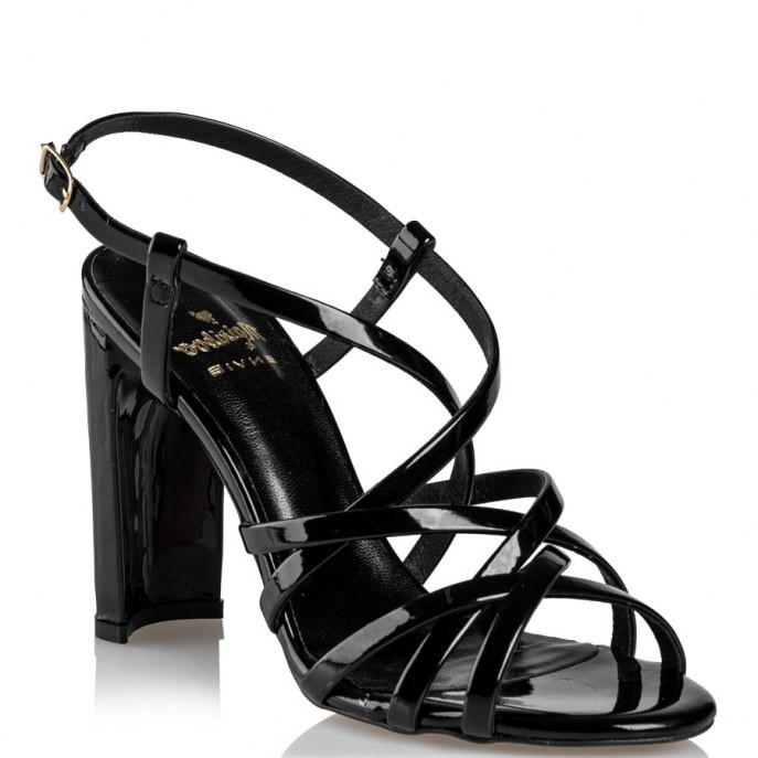 Mairiboo by Envie Shoes Γυναικεία Πέδιλα M03-11871-34 Μάύρο PLEXI
