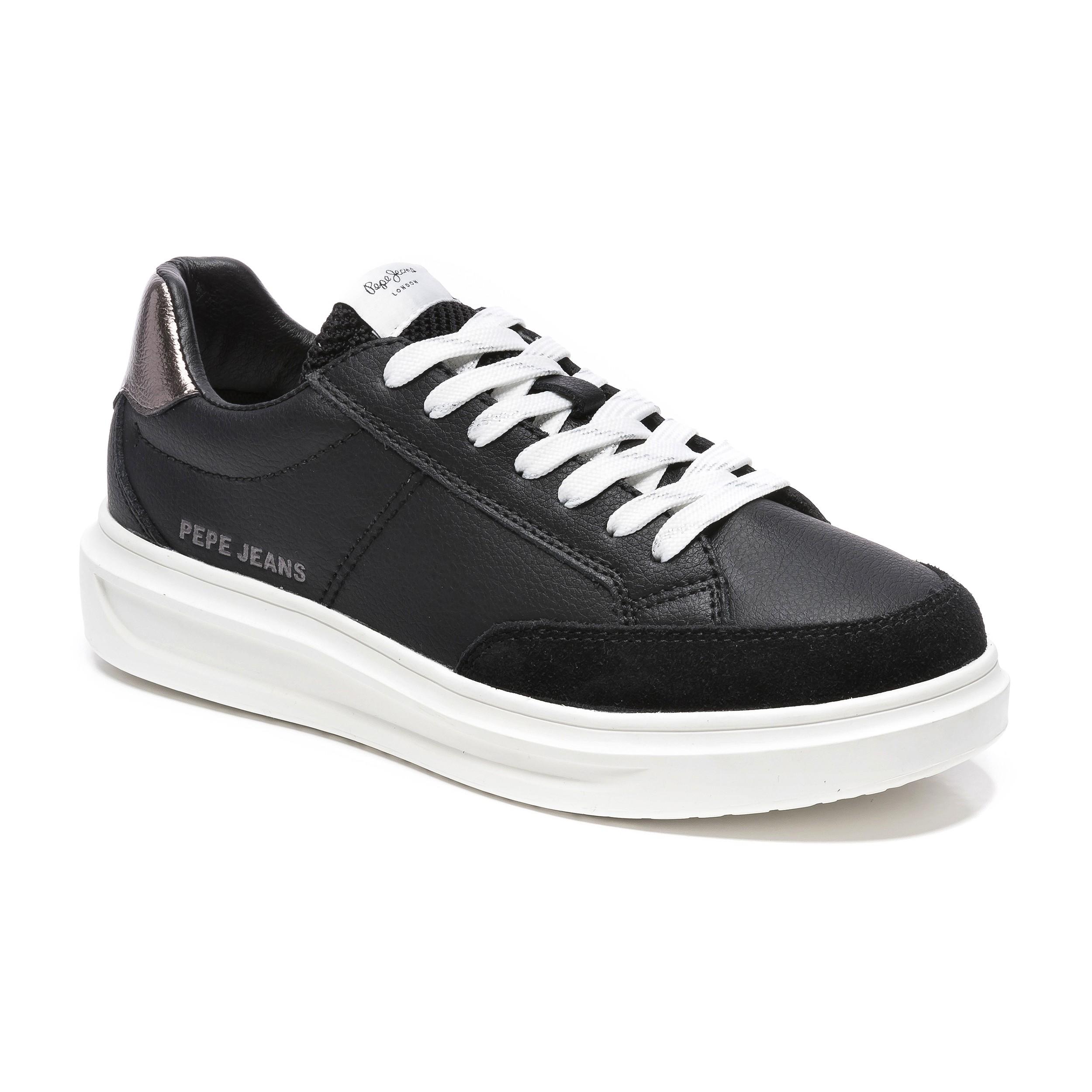 Pepe jeans ABBEY Sneakers Γυναικεία Παπούτσια PLS31052-999 Mαύρο
