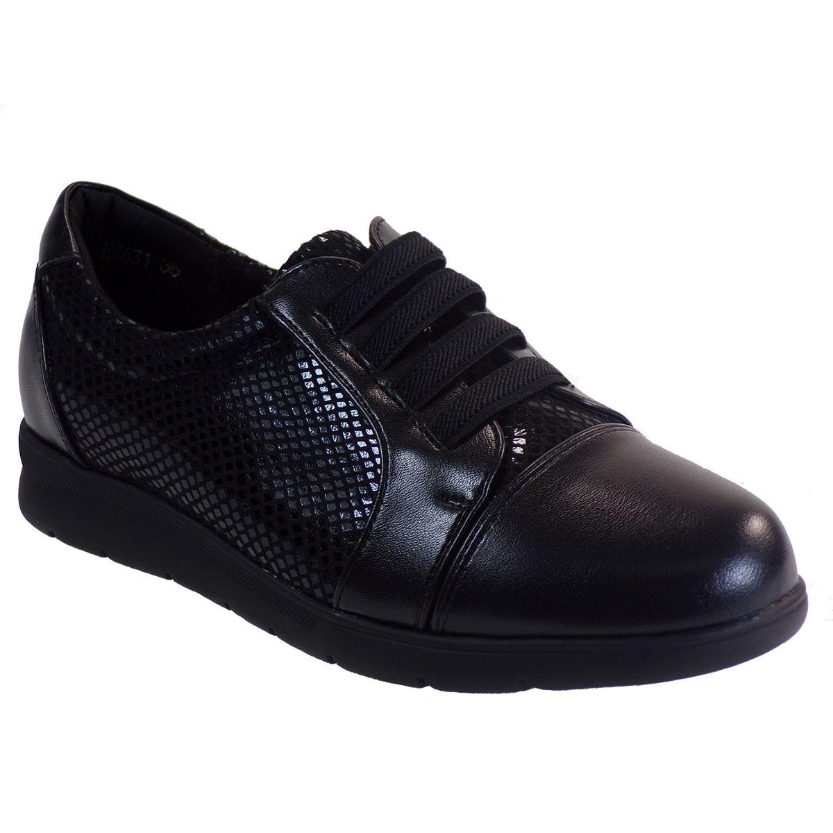 Bagiota Shoes Γυναικεία Παπούτσια Sneakers EJ831 Μαύρο