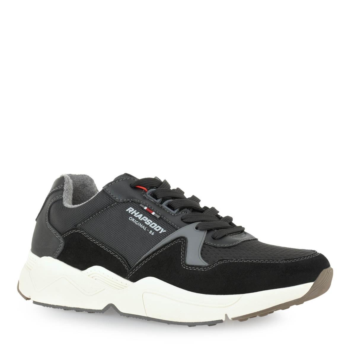 RHAPSODY Ανδρικά Παπούτσια Sneakers 206-909443 Mαύρο L589S2062172