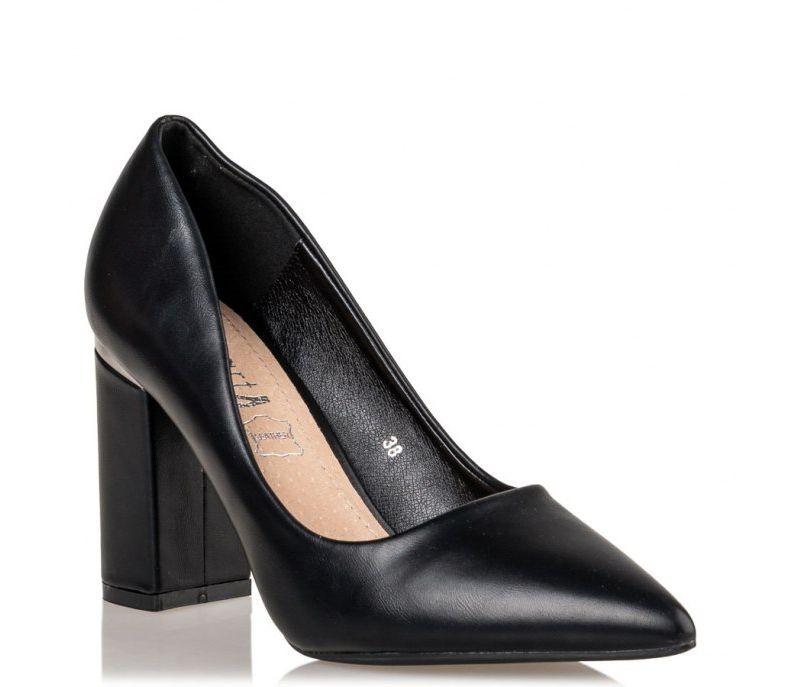 Smart by Envie Shoes Γυναικεία Παπούτσια Γόβα S31-11588-34 Μαύρα