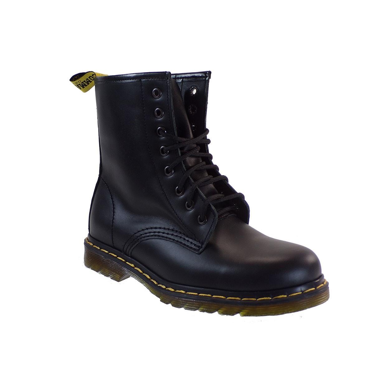 Commanchero Γυναικεία Παπούτσια Μποτάκια Αρβυλάκια 515-921 Μαύρο Δέρμα