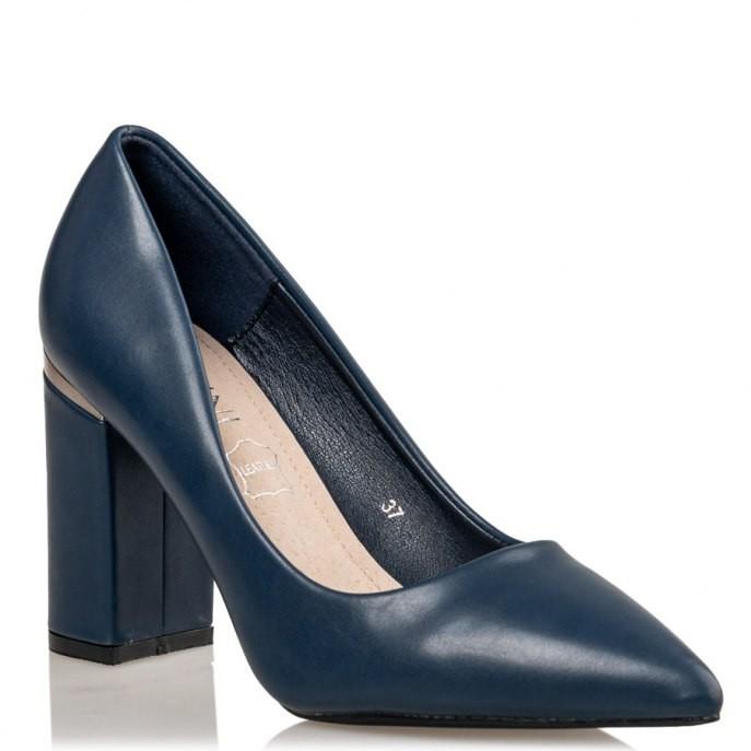 Smart by Envie Shoes Γυναικεία Παπούτσια Γόβα S31-11588-38 Μπλέ