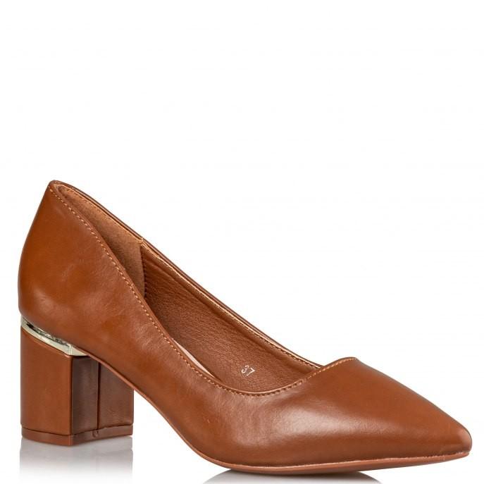 Miss NV Γυναικεία Παπούτσια Γόβα S31-12127-26 Κάμελ