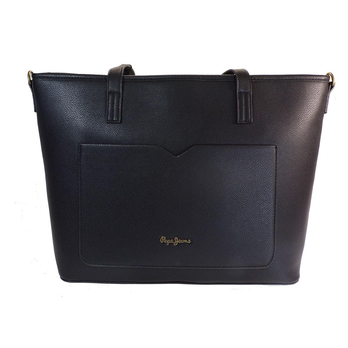 Pepe Jeans BAGS Γυναικεία Τσάντα Ώμου 7277521 Μαύρο PL032668-999