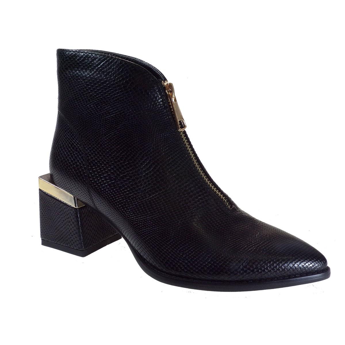 Exe Shoes Γυναικεία Παπούτσια Μποτάκια 903-67V Μαύρo L367V9033006