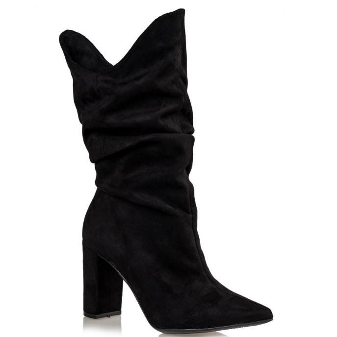 Mairiboo by Envie Shoes Γυναικεία Mπότα M03-12590-34 Μαύρο DONNA