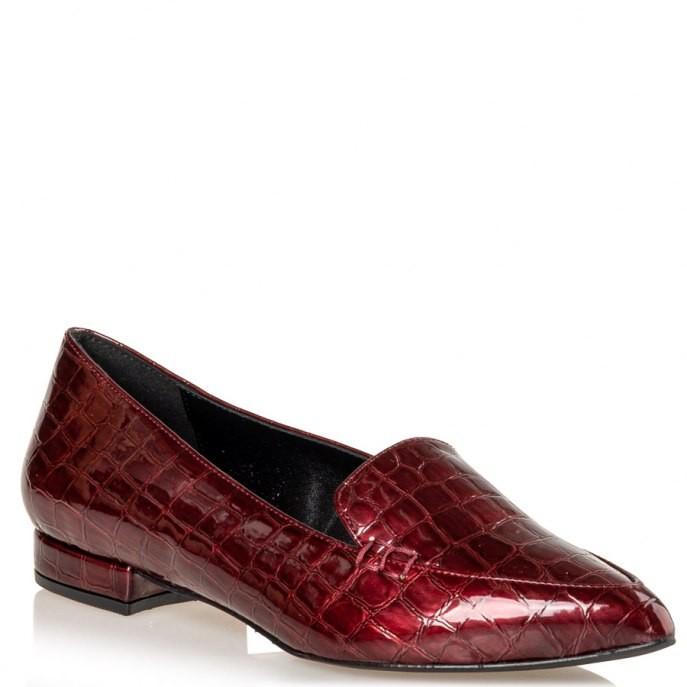 Envie Shoes Γυναικείες Παπούτσια Μοκασίνια E02-12006-39 Μπορντώ