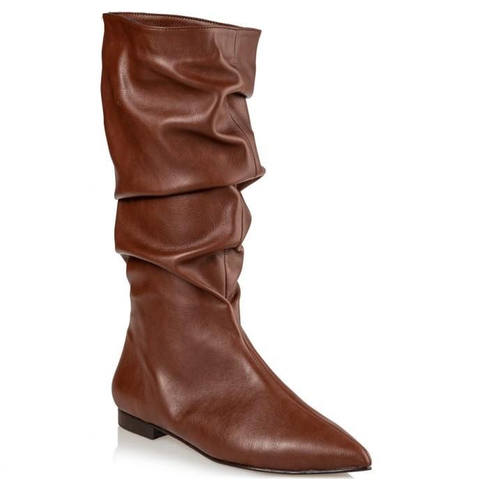 Mairiboo by Envie Shoes Γυναικεία Mπότα M03-12521-52 Ταμπά PAN