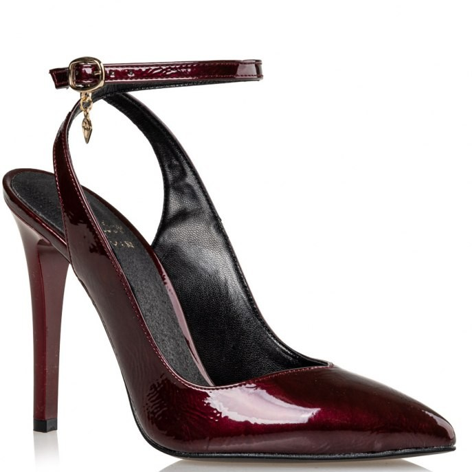 Mairiboo by Envie Shoes Γυναικεία Παπούτσια Γόβες M03-12578-39 Μπορντώ POINT TAKEN