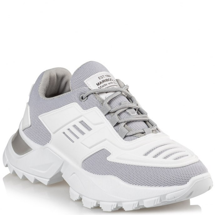 Mairiboo by Envie Shoes Γυναικεία Παπούτσια Sneakers M74-13825-23 Γκρί THE FUTURE