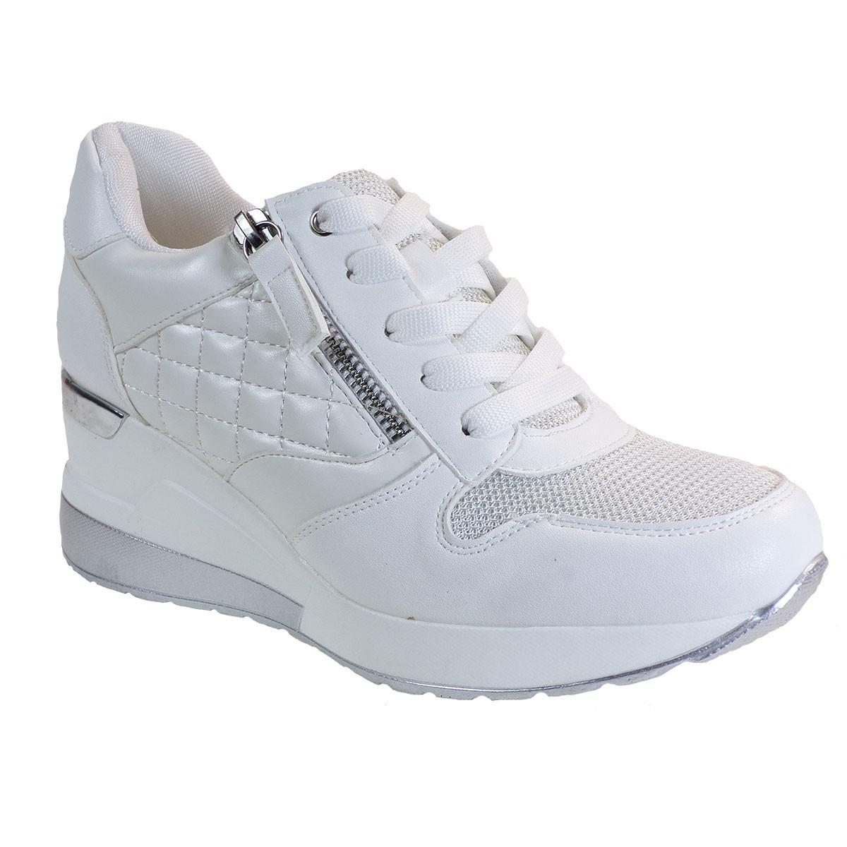 Bagiota Shoes Γυναικεία Παπούτσια Sneakers Αθλητικά H8991 Λευκό
