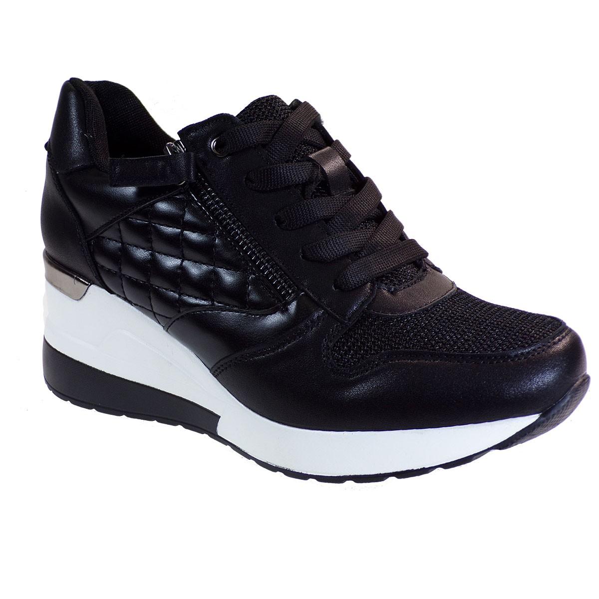 Bagiota Shoes Γυναικεία Παπούτσια Sneakers Αθλητικά H8991 Μαύρο