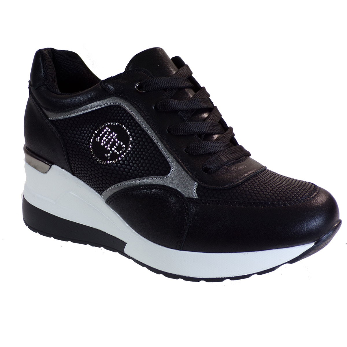 Bagiota Shoes Γυναικεία Παπούτσια Sneakers Αθλητικά H8987 Μαύρο