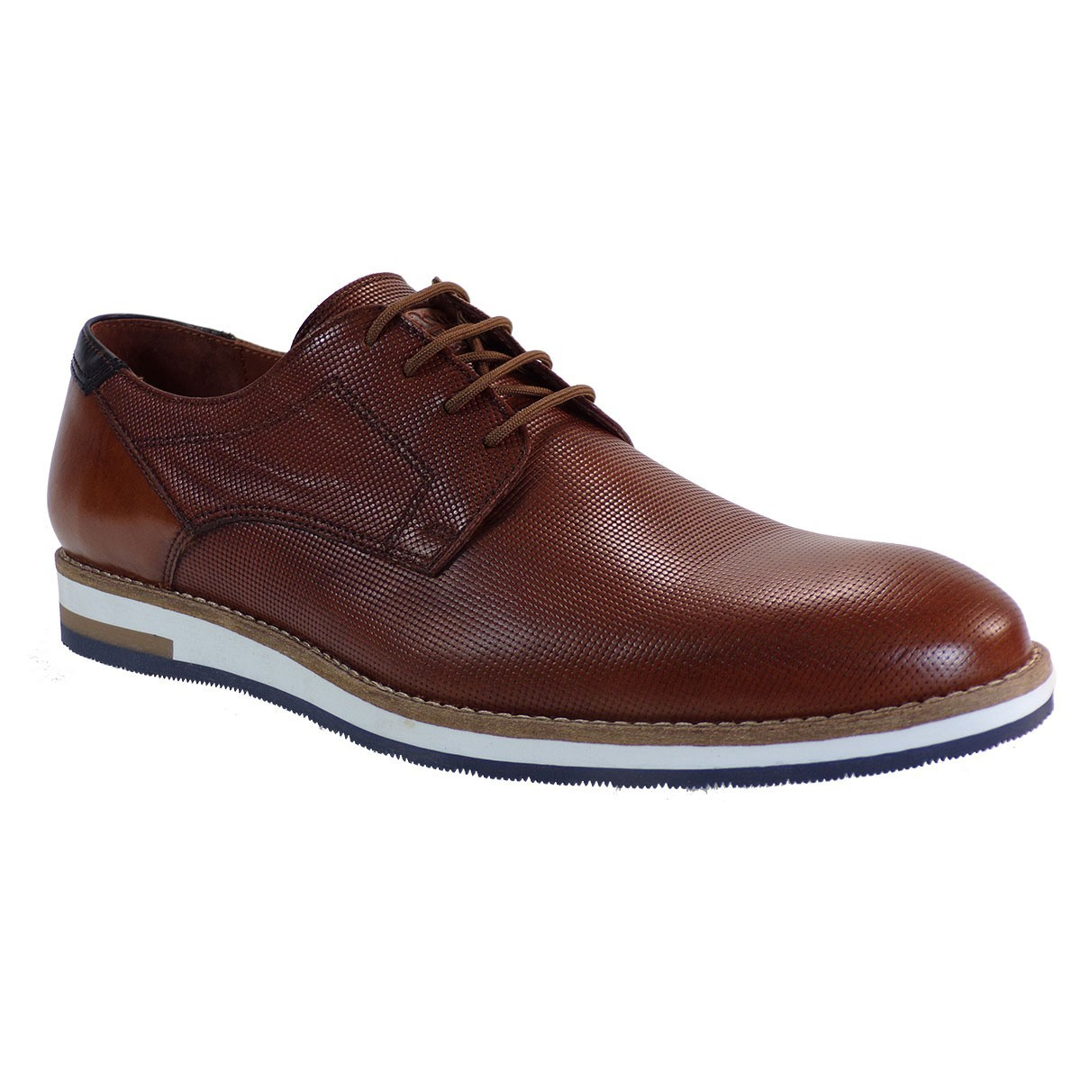 Robinson Ανδρικά Παπούτσια 2131 Ταμπά Δέρμα