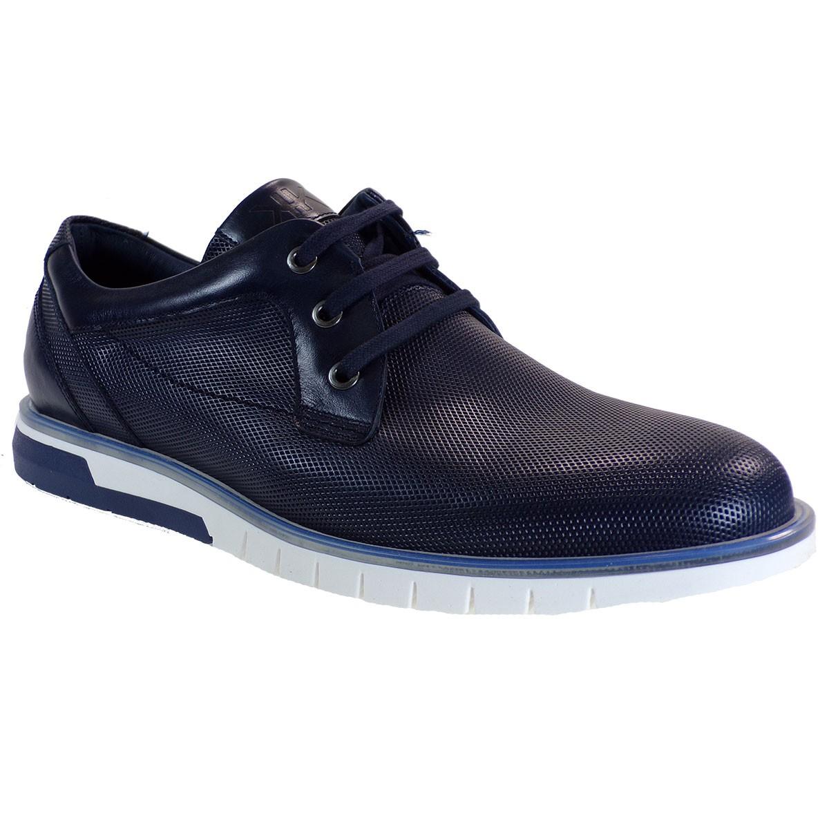 kricket Ανδρικά Παπούτσια K8 Μπλέ Δέρμα