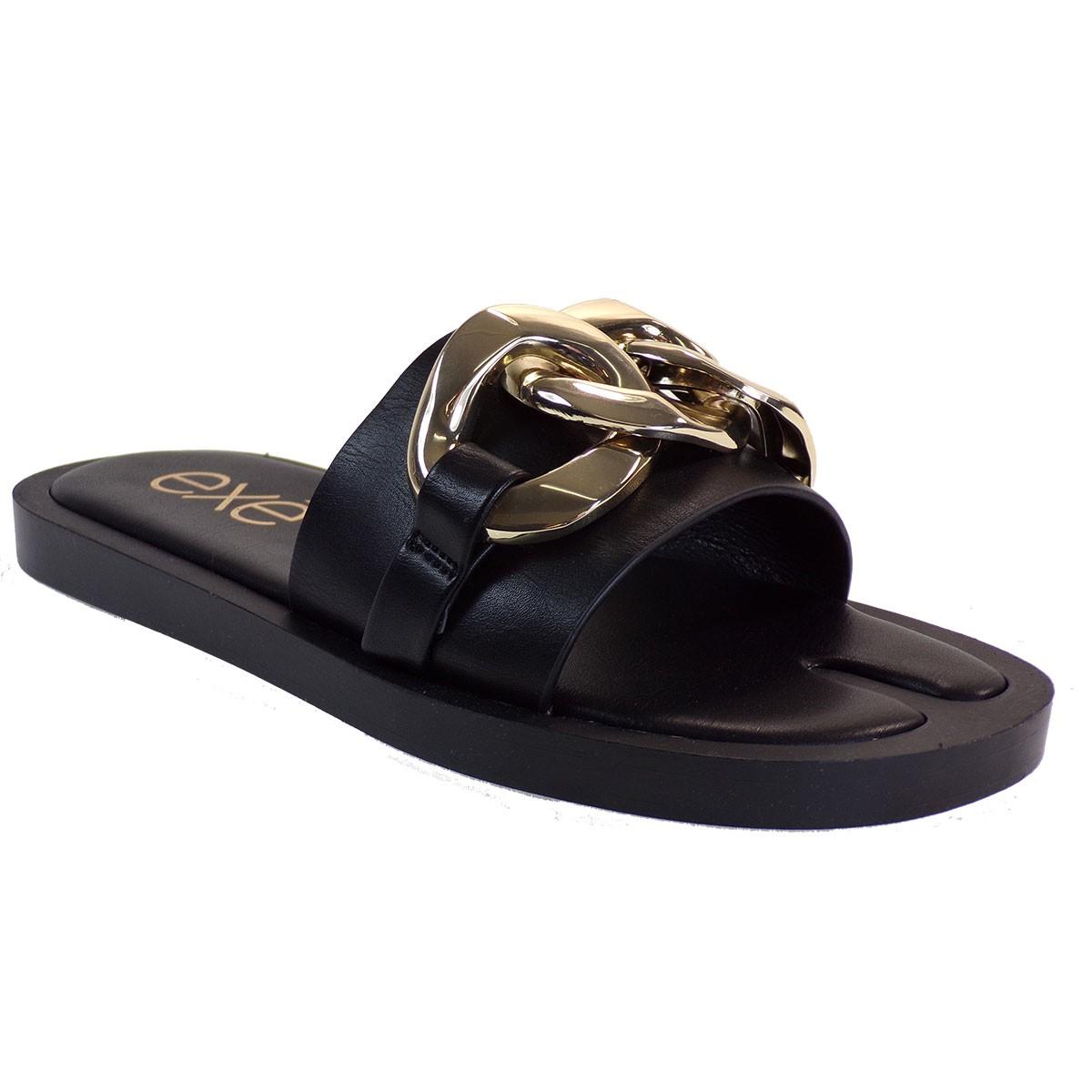 EXE Shoes Γυναικείες Παντόφλες SAMANTHA-273 Μαύρο M47002732001