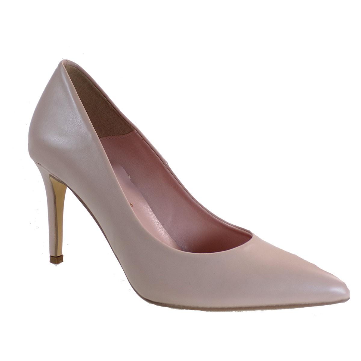 Alessandra Paggioti Γυναικεία Παπούτσια Γόβες 81001 Nude Mατ