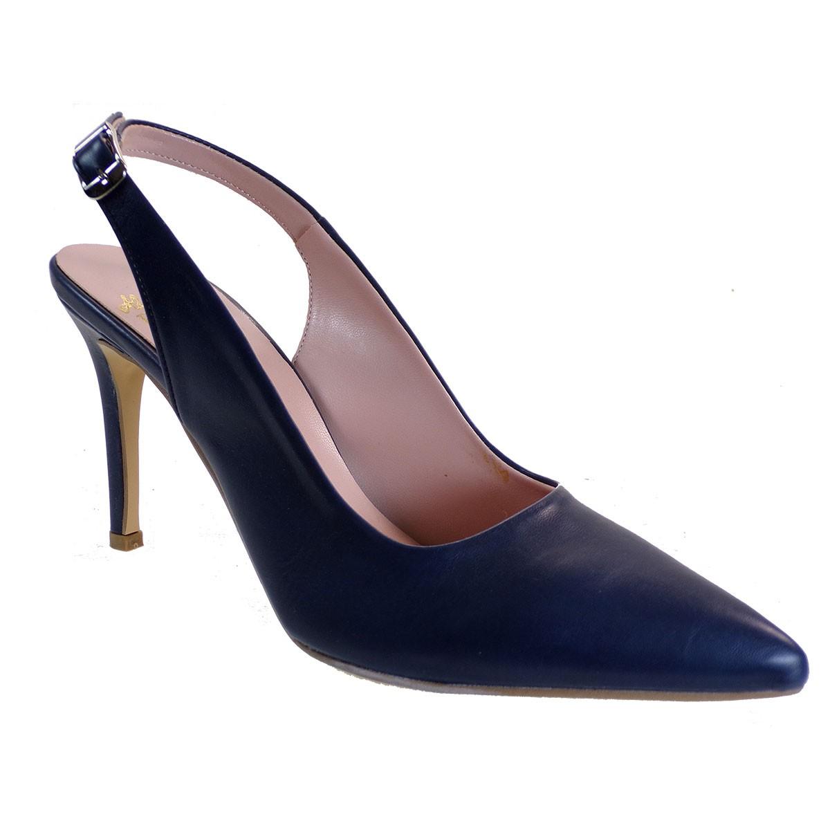Alessandra Paggioti Γυναικεία Παπούτσια Γόβες 81000 Μπλε Σκούρο Ματ