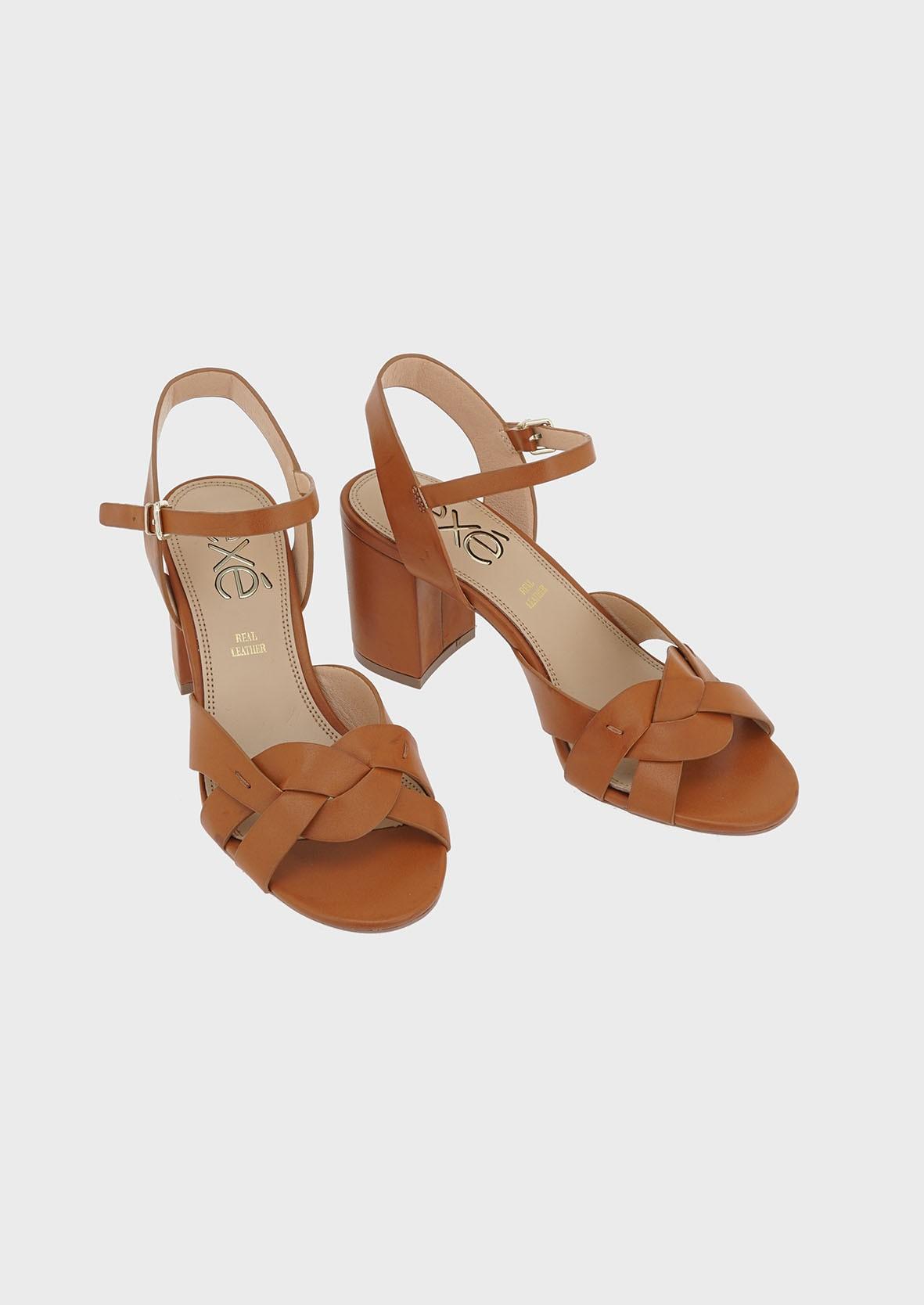 EXE Shoes Πέδιλα Γυναικεία ADELE-267 Ταμπά M47002674531