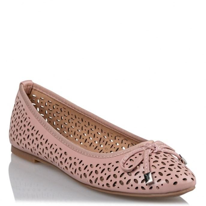 Miss NV Γυναικεία Παπούτσια Γόβα Μπαλαρίνα V84-11122-49 Ροζ