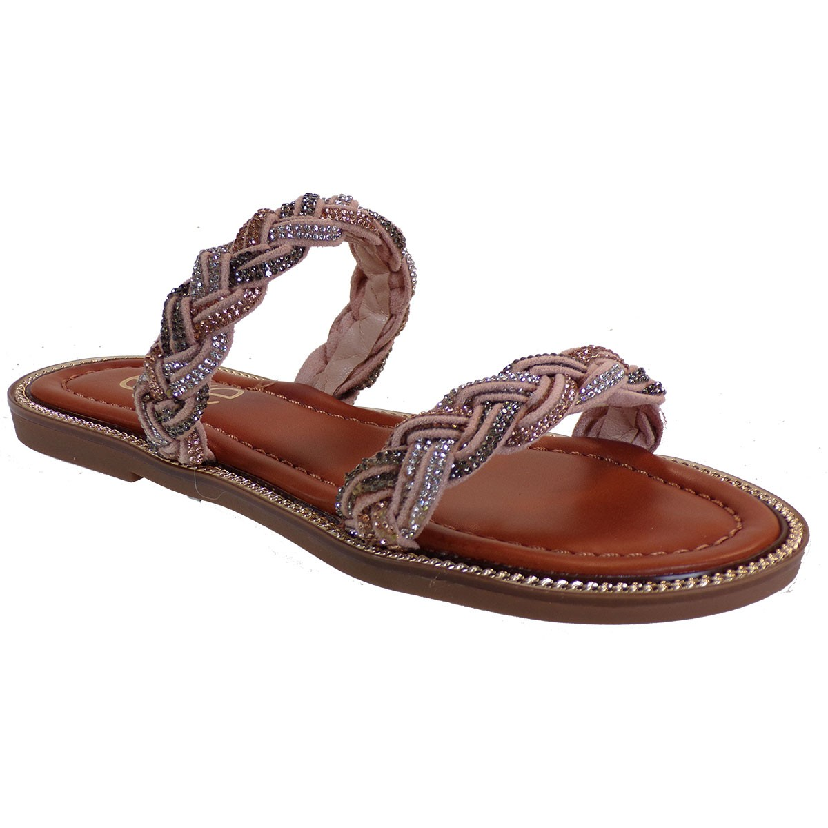 EXE Shoes Γυναικείες Παντόφλες ARIANA-405 Nude M47004051775