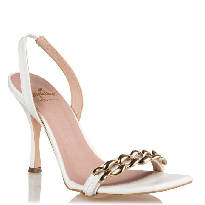 Mairiboo by Envie Shoes Γυναικεία Πέδιλα M03-13916-33 Λευκό ΝΤΟΝΑ ΤΕΛΑ