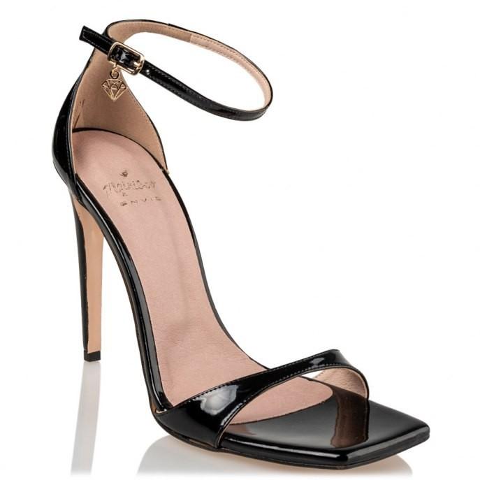 Mairiboo by Envie Shoes Γυναικεία Πέδιλα M03-13920-34 Μαύρο STILETTOS