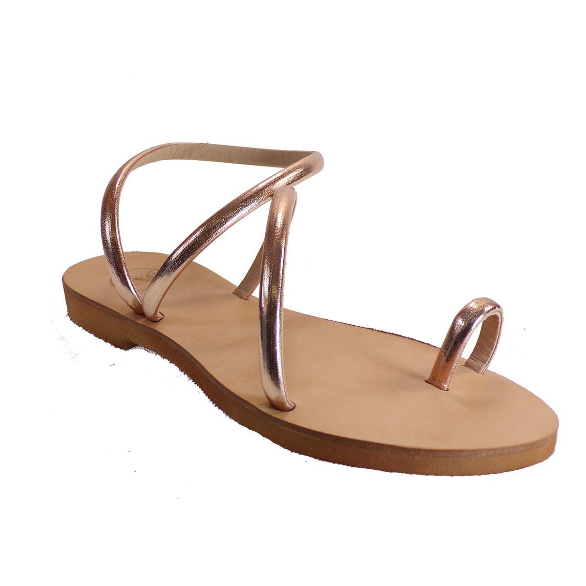 EXE Shoes Γυναικεία Πέδιλα 003 Χαλκός