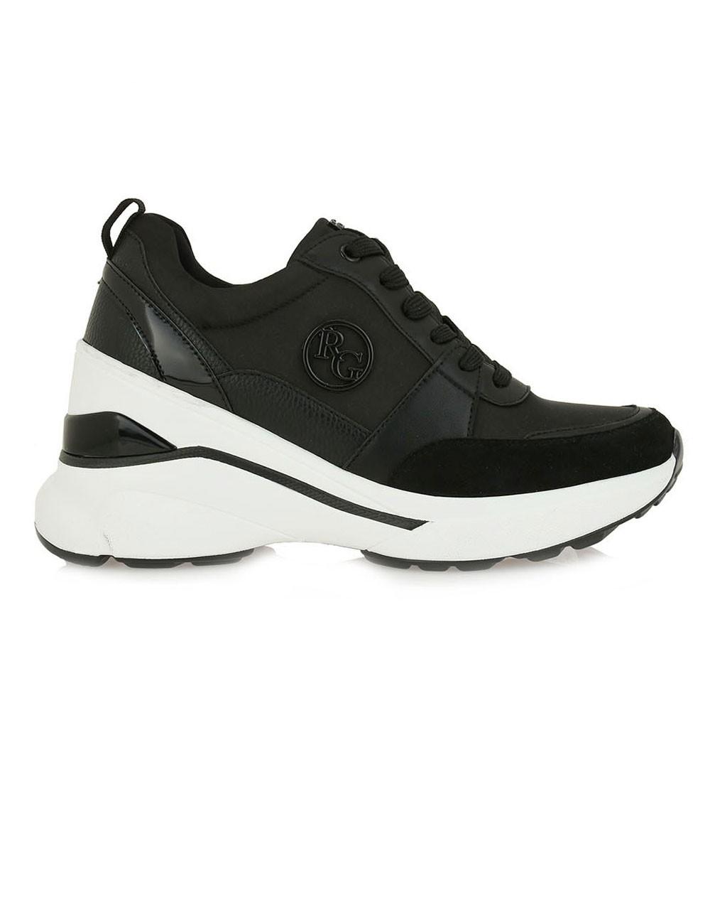 Renato Garini Γυναικεία Παπούτσια Sneakers 215-19R Μαύρο N119R2154001