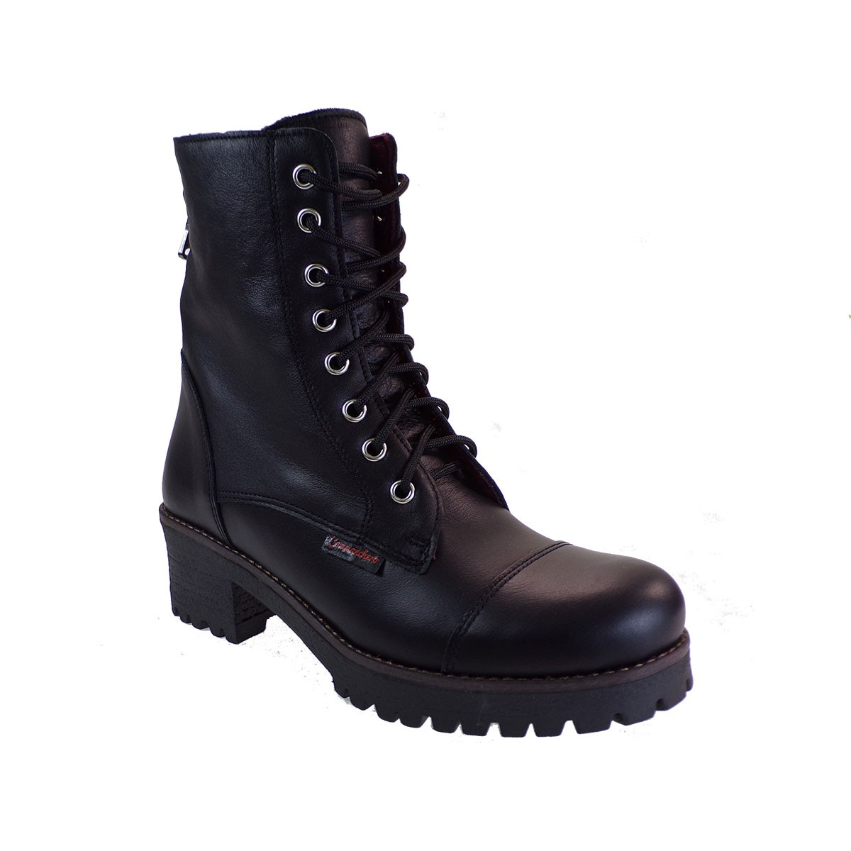 Commanchero Γυναικεία Παπούτσια Μποτάκια Αρβυλάκια 5312-721 Μαύρο Δέρμα